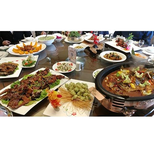 临淄大餐全景